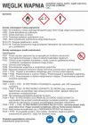 Węglik wapnia - etykieta, oznakowanie opakowania