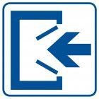 Wejście - znak informacyjny - RA065