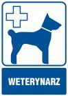 Weterynarz - znak informacyjny - RF007