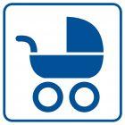 Wózkarnia - znak informacyjny - RA056