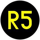 Wskaźnik kanału radiowego W28 - znak kolejowy