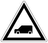 Wskaźnik ostrzegania W6a - znak kolejowy - Kolejowe wskaźniki ogólnoeksploatacyjne (W-1 – W11)