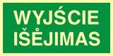 Wyjście - Isejimas - znak ewakuacyjny - AC008 - Wymiary drzwi ewakuacyjnych – wymagania i definicja