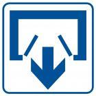Wyjście - znak informacyjny - RA068