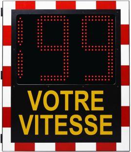 Wyświetlacz prędkości, radar drogowy Speed LUX 230V