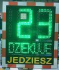 Wyświetlacz prędkości, radar drogowy Speed LUX z panelem solarnym