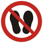 Zakaz chodzenia i stawania