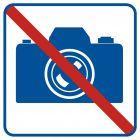 Zakaz fotografowania - znak informacyjny - RA505