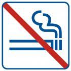 Zakaz palenia 1 - znak zakazujący - NE009