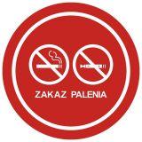 Zakaz palenia tytoniu i papierosów elektronicznych 3 - znak zakazujący, informujący - NE034 - Palenie tytoniu – gdzie obowiązuje zakaz, a gdzie wolno palić?