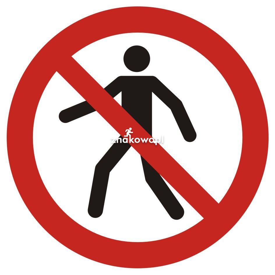 Zakaz przejścia - Plac budowy – znaki i tablice