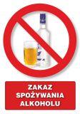 Zakaz spożywania alkoholu - znak informacyjny - PC106 - Zakaz spożywania alkoholu – jak poprawnie oznakować sklep i inne obiekty?