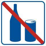Zakaz spożywania napojów - znak informacyjny - RA503 - Zakaz spożywania alkoholu – jak poprawnie oznakować sklep i inne obiekty?