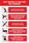 Zakaz wnoszenia na teren szkół i internatów - IAS04