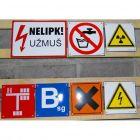 Zamów - Tabliczka przemysłowa, ostrzegawcza, informacyjna - przemysł, zakłady pracy, magazyny, obiekty - blacha emaliowana - wg projektu, na zamówienie