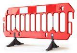 Zapora bariera drogowa U-20 PCV Scavia z nóżkami - Urządzenia zabezpieczające imprezy masowe