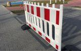 Zapora bariera drogowa U-20 PCV Toros - Roboty prowadzone w poboczu i w pasie dzielącym