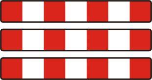 Bariera zapora drogowa potrójna U-20d