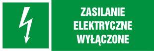 Zasilanie elektryczne wyłączone