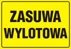 Zasuwa wylotowa