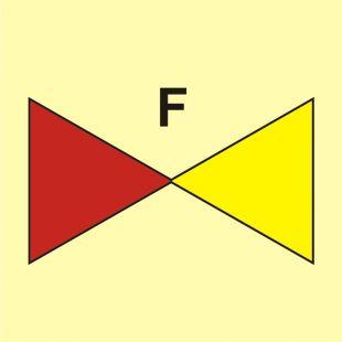 Zawór odcinka pianowego - znak morski - FI069