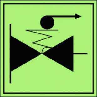 Zdalne odcinanie zaworów paliwa - znak morski - FA056