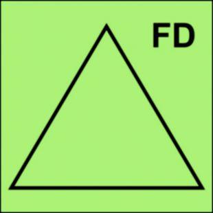 Zdalne sterowanie drzwi przeciwpożarowych - znak morski - FI033