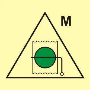 Zdalne sterowanie przepustnic ppoż. (obszar maszynowy) - znak morski - FI041