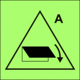 Zdalne sterowanie zamykaczy wlotu/wylotu wentylacyjnego (obszar serwisowy) - znak morski - FI043