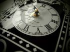 Zegar, tablica okrągła tabliczka - blacha emaliowana - wg projektu, na zamówienie