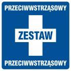 Zestaw przeciwwstrząsowy - znak informacyjny - PA028