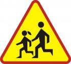 Znak A-17 Dzieci - drogowy ostrzegawczy