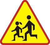 Znak A-17 Dzieci - drogowy ostrzegawczy - Strefa zamieszkania – o czym informuje znak D-40?