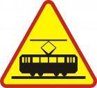 Znak A-21 Tramwaj - drogowy ostrzegawczy