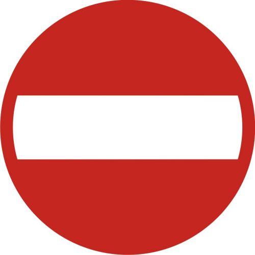 Znak B-2 Zakaz wjazdu - drogowy zakazu - Zakaz wjazdu – znak B-2