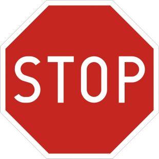 Znak B-20 Stop! - drogowy zakazu