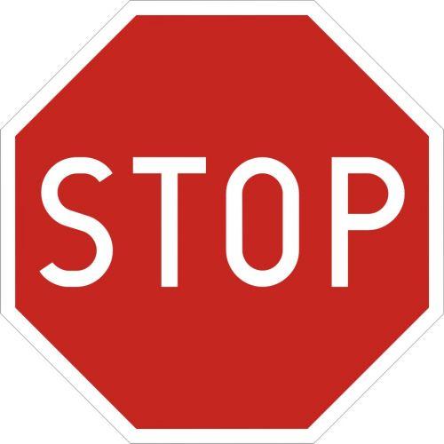 Znak B-20 Stop! - drogowy zakazu - Znak stop (znak zakazu B-20)