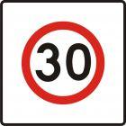 Znak B-43 Strefa ograniczonej prędkości - drogowy zakazu