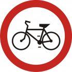 Znak B-9 Zakaz wjazdu rowerów - drogowy zakazu