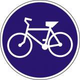 Znak C-13 Droga dla rowerów - drogowy nakazu - Drogi rowerowe i znaki dla rowerzystów