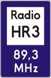 Znak D-34a Informacja radiowa o ruchu drogowym - drogowa tablica informacyjna - Znaki informacyjne – znaki drogowe, cz. IV