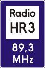 Znak D-34a Informacja radiowa o ruchu drogowym - drogowy informacyjny