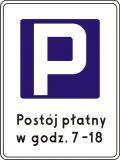 Znak D-44 Strefa parkowania - drogowa tablica informacyjna - Parking – z jakimi oznaczeniami możemy się spotkać?