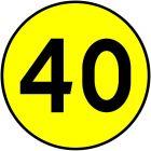 Znak drogowy wojskowy W-1 Klasa obciążenia mostu o ruchu jednokierunkowym
