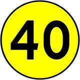 Znak drogowy wojskowy W-1 Klasa obciążenia mostu o ruchu jednokierunkowym - Znaki dla kierujących pojazdami wojskowymi