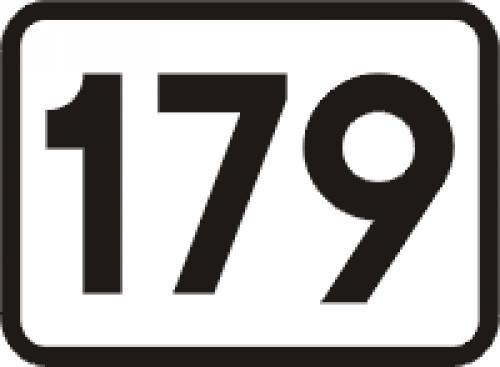 Znak kilometrowy, cyfra kilometrowy U-7 - Znaki wskazujące pikietaż drogi