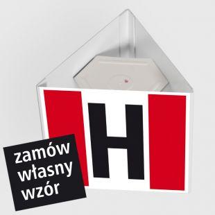 Hydrant zewnętrzny przestrzenny 3D - duży 50 x 50 cm