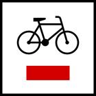 Znak R-1 Szlak rowerowy lokalny R-1 - drogowy