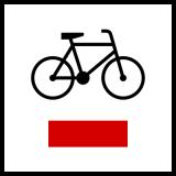 Znak R-1 Szlak rowerowy lokalny R-1 - drogowy - Rodzaje znaków drogowych: jaki jest podział oznaczeń drogowych? Z przykładami