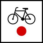 Poczatek (koniec) szlaku rowerowego krajowego R-1a